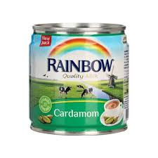 CANNED MILK RAINBOW CARDAMOM / 160ML