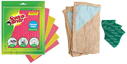 CLOTH MULTIPURPOSE SCOTCH BRITE 3 PCS