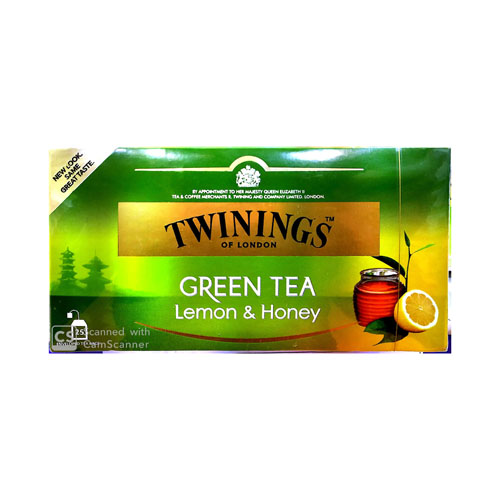 TEA BAG TWINING GREEN HONEY & LEMON