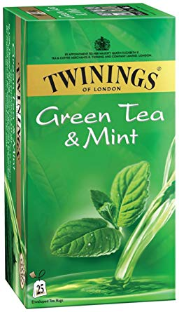 TEA BAG TWINING GREEN MINT