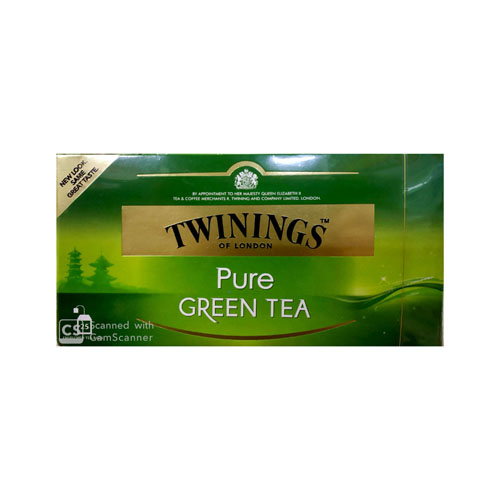 TEA BAG TWINING GREEN GINGER