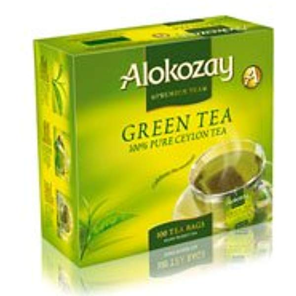 TEA BAGS ALOKOZAY GREEN