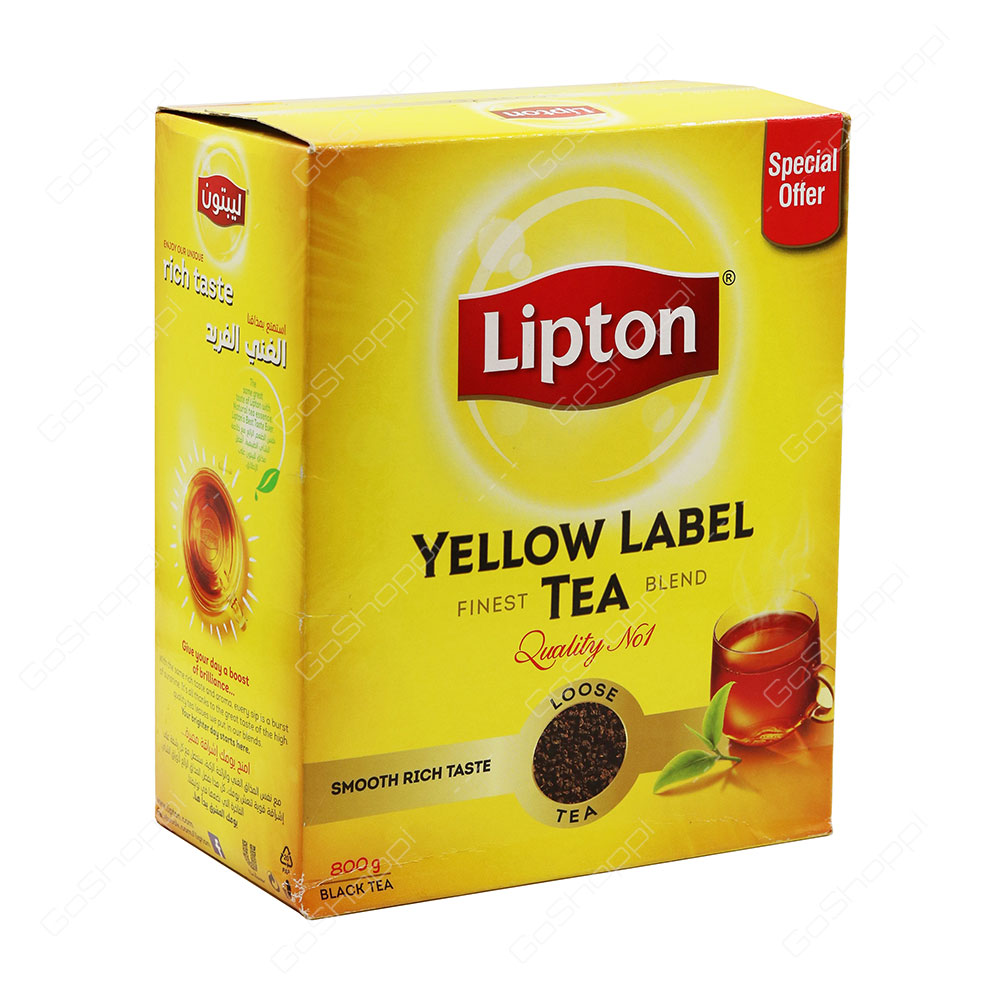 LOOSE TEA LIPTON 800 GM - PKT