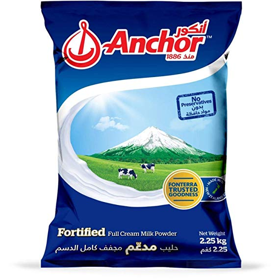 MILK POWDER ANCHOR 2500 GM - PCS