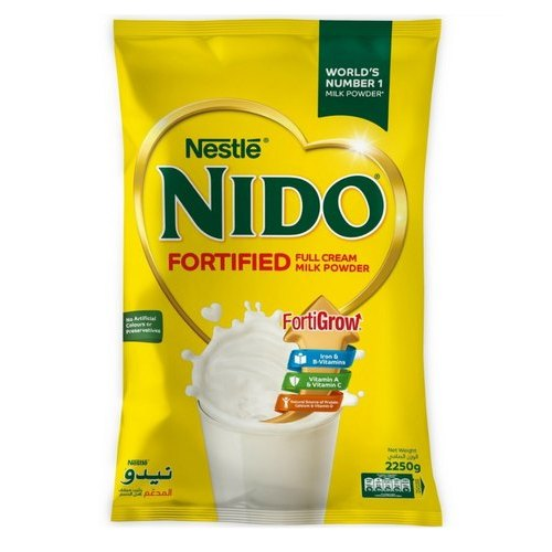 MILK POWDER NIDO POUCH 2250 GM POUCH - PCS