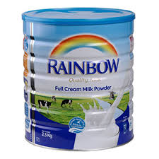 MILK POWDER RAINBOW 2500 GM - PCS