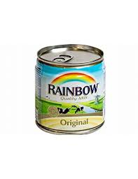 CANNED MILK RAINBOW ORGINAL 160 ML - PCS