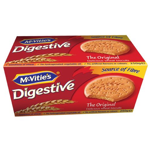 TIFFANY DIGESTIVE BISCUITS 400 GM - PKT