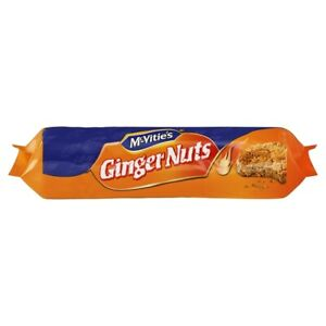 MACVITIES GINGER NUTS 250 GM - PKT