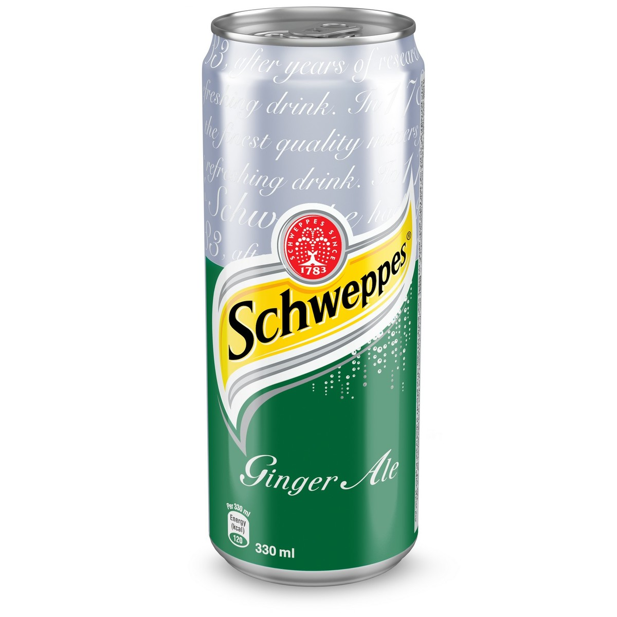 SCHWEPPERS GINGER ALE 330 ML - PCS