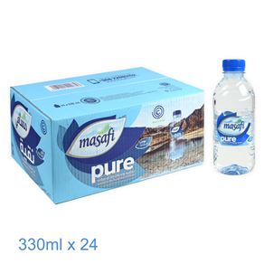 WATER/ MASAFI 200 ML 24 PCS - CTN