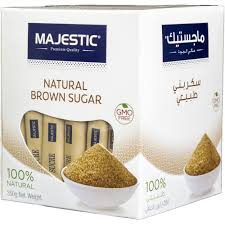 SUGAR MAJESTIC BROWN 1 KG - PKT