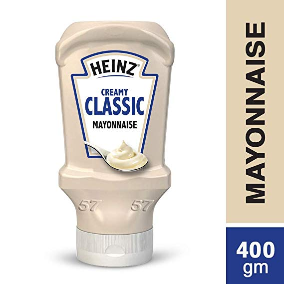 HEINZ MAYONNAISE 400ML - PCS