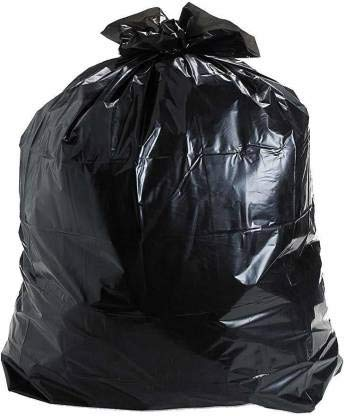 GARBAGE BAG BLACK HD MAPCO 65 CM X 95 CM 10 BAGS - PKT